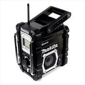 Makita DMR 108 Z B 7,2 - 18 V Akku Baustellen Radio mit Bluetooth Schwarz Solo - ohne Akkus und Ladegerät