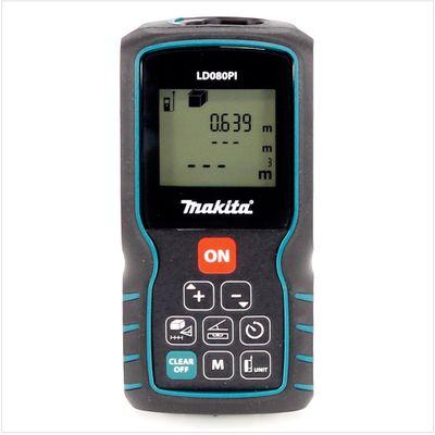 Makita LD 080 PI Laser Distanz Entfernungsmesser mit Neigungssensor – Bild 3
