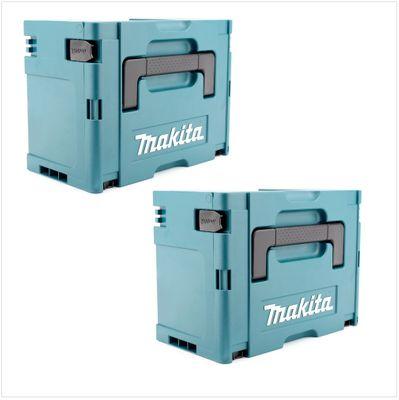 Makita set de 2 x Boîtiers de transport Makpac 3 – Bild 2