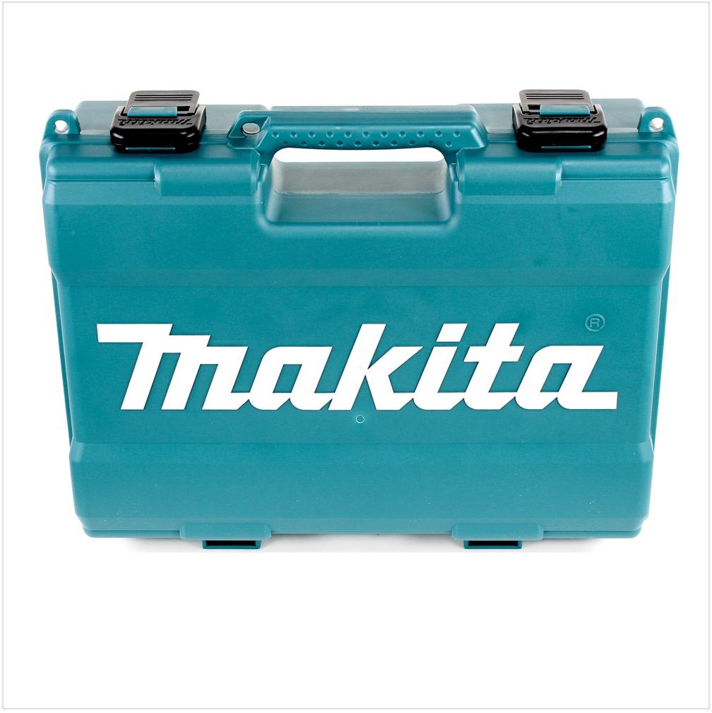 Lader Makita DF 031 DWAE 10,8 V Akku Bohrschrauber mit 2x 2 Ah Akku Koffer