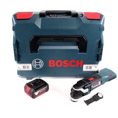 Bosch GOP 18 V-28 Akku Multi-Cutter 18V Multifunktionswerkzeug Starlock Plus in L-Boxx + 1x 5,0 Ah Akku - ohne Ladegerät – Bild 2