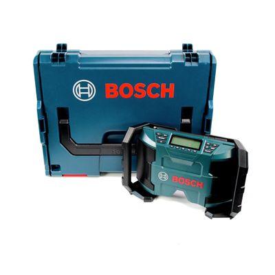 Bosch GPB 12V-10 Akku Baustellenradio 12V Aux-In Solo in L-Boxx ( 0615990GM8 ) - ohne Akku, ohne Ladegerät – Bild 2