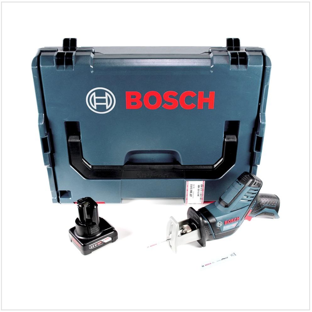 bosch gsa 12v-14 li-ion professional scie sabre sans fil avec