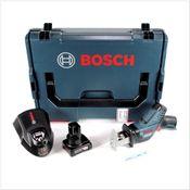 Bosch GSA 12V-14 Akku Säbelsäge 12 V + 1x Akku 4,0Ah + Schnellladegerät + L-Boxx