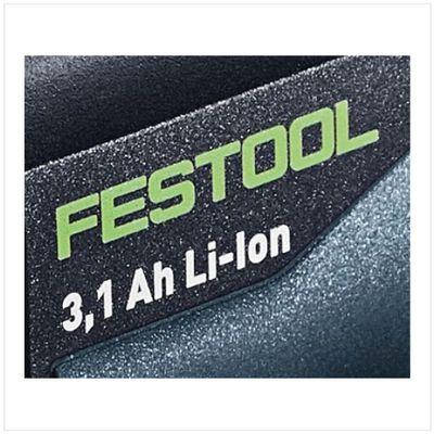 Festool BP 18 Li 3,1 C Akkupack 18V 3,1Ah Li-Ion Akku mit LED Anzeige ( 201789 ) – Bild 5