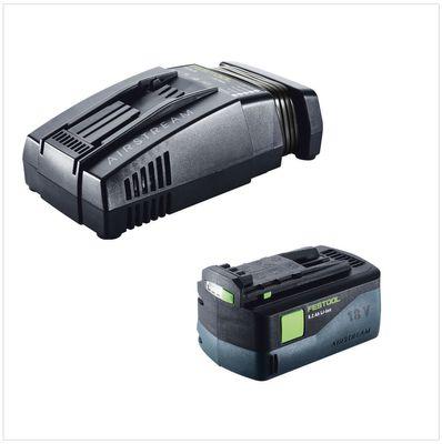 Festool HKC 55 Li 5,2 EB-Basic Scie circulaire sans fil avec boîtier Systainer + 1x Batterie BP 18 Li 5,2 Ah AS + Chargeur SCA 8 – Bild 5