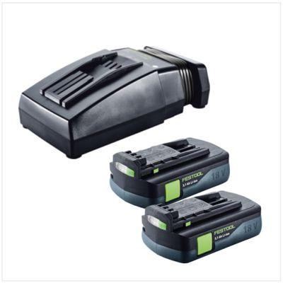 Festool HKC 55 Li EB Basic Scie circulaire sans fil avec boîtier Systainer + 2x Batteries BP 18 Li 3,1 C + Chargeur rapide TCL 6 – Bild 5