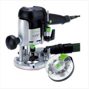 Festool OF 1010 EBQ-Plus Oberfräse 1010W 55mm Hub im Systainer ( 574383 ) + Fräserbox-HF
