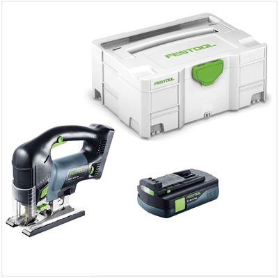 Festool PSBC 420 Li EB-Basic Akku Pendelstichsäge CARVEX 18V ( 201379 ) 120mm Brushless im Systainer + 1x 3,1Ah Akku - ohne Ladegerät – Bild 2