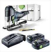 Festool PSC 420 Li EB Basic Akku Pendelstichsäge CARVEX 18V ( 574713 ) 120mm Brushless im Systainer + 2x 3,1Ah Akku + Ladegerät