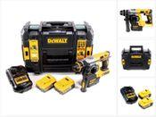 DeWalt DCH 273 P2 18 V Brushless Akku Kombihammer SDS-Plus in TSTAK Box + 2x DCB 184 5,0 Ah Akku + DCB 105 Ladegerät