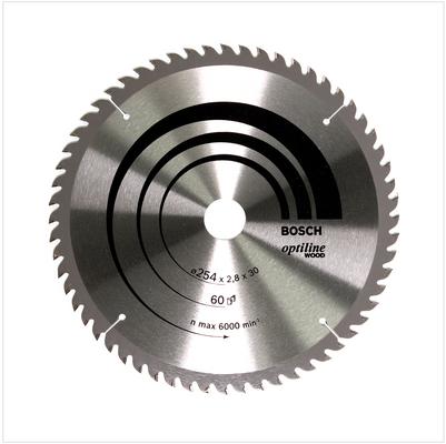 Bosch Lame de scie circulaire Optiline Wood OP WO B 254x30-60 254 mm 60 Dents ( 2608640444 ) – Bild 2