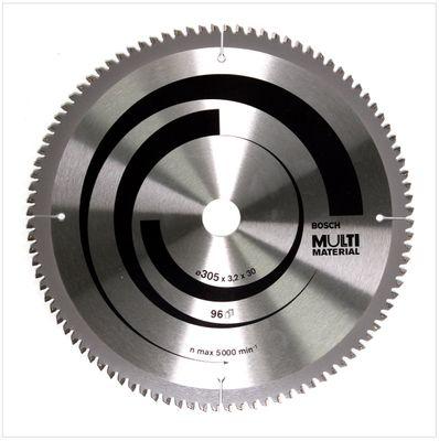 Bosch Kreissägeblatt Multi Material MM MU B 305 x 30 x 3,2 mm 305 mm 96 Zähne ( 2608640453 ) für Kapp- und Gehrungssägen – Bild 2