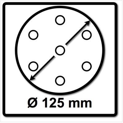 Bosch SIA Scheibe Keramik Schleifnetz 7500 125 mm Körnung P180 50 Stück ( F03E00689B ) – Bild 3