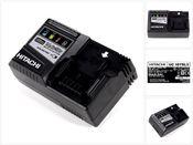 Hitachi UC 18YSL3 Akku Ladegerät 14,4 - 18 V für Hitachi Schiebe-Akkus mit USB-Anschluss