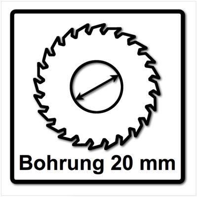 Festool 3x Panther Lames de scie circulaire HW 160x2,2x20 PW12 160 mm 12 Dents ( 3x 496301 ) – Bild 5