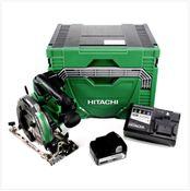 Hitachi C 18 DBAL 18 V  Brushless Akku Handkreissäge 165 mm im Koffer + 1x BSL1850 5,0 Ah Akku + UC 18YSL3 Ladegerät 14,4 - 18 V
