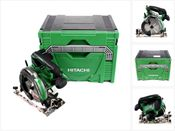 Hitachi C 18 DBAL 18 V Akku 165 mm Brushless Handkreissäge Solo im Hitachi System Case HSC Typ 4