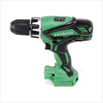Hitachi DV 18 DGL 18 V Schlagbohrschrauber im Hitachi Transportkoffer + 2x Hitachi BSL 1850 5,0 Ah Akku + 1x Hitachi UC 18YFSL Akku Ladegerät 14,4 - 18 V  – Bild 3