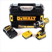 DeWalt DCD 796 M2 18 V Akku Schlagbohrschrauber Brushless 70 Nm im TSTAK mit 2x DCB 182 4,0 Ah Akku und DCB 105 Ladegerät