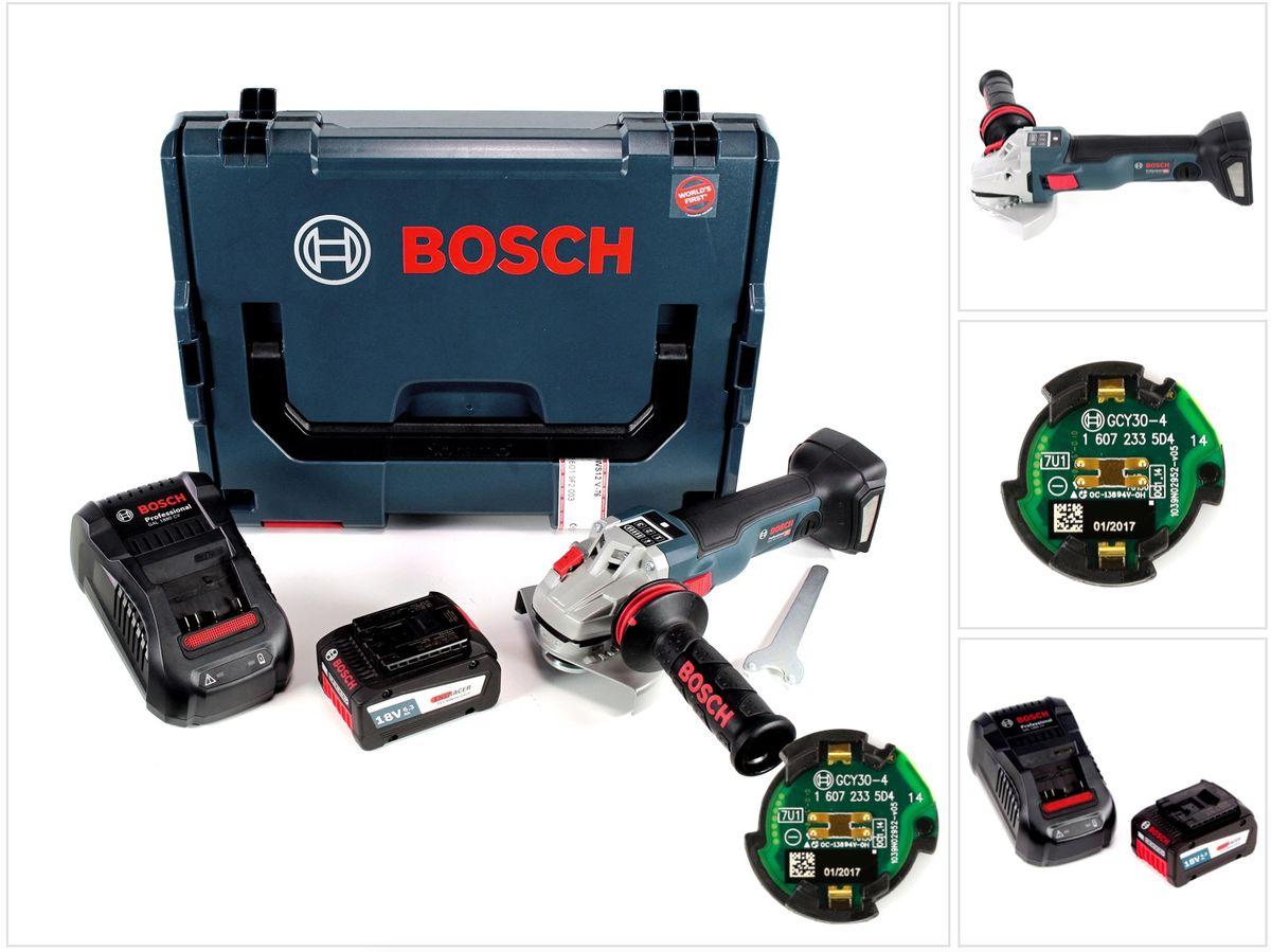 bosch gws 18 v 125 sc akku winkelschleifer connectivity modul 6 3 eneracer akku ebay. Black Bedroom Furniture Sets. Home Design Ideas