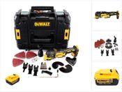 DeWalt DCS 355 Multi Tool inkl. 36 teiliges Zubehör Set in TStak-Box 2 + 1x DCB 182 18V 4,0 Ah Li-Ion Akku