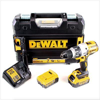 DeWalt DCD 996 M2 Akku Schlagbohrschrauber 18V 95Nm Brushless + 2x Akku 4,0Ah + Schnellladegerät + TSTAK – Bild 2