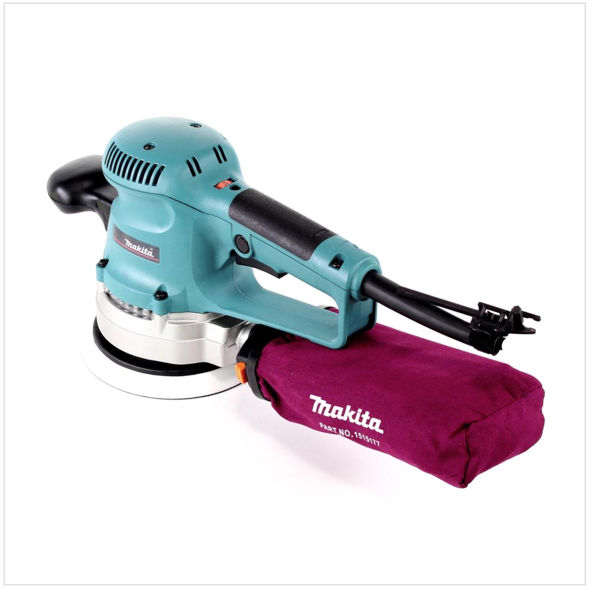 makita bo 6030 ponceuse excentrique Ø 150 mm avec 310 watt - sans
