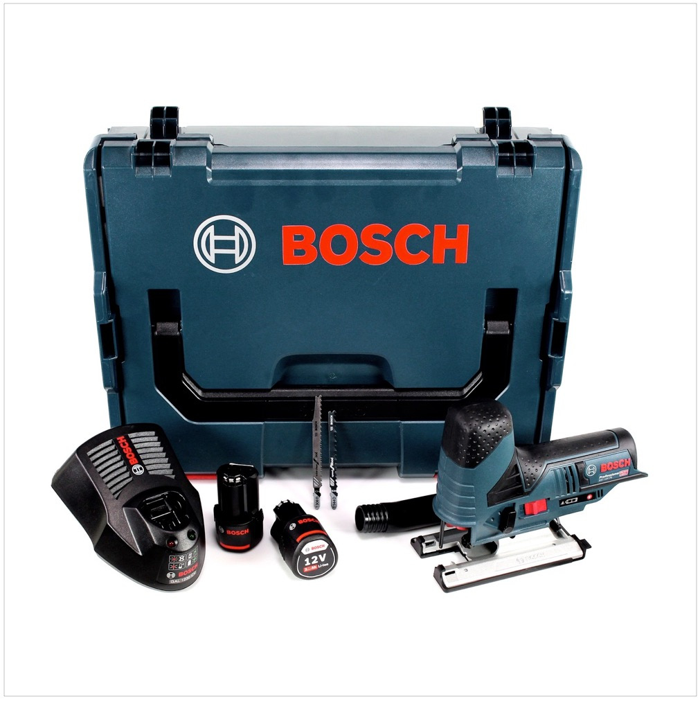 bosch gst 12v 70 akku stichs ge in l boxx 2 x 2 0 ah akku ladeger t ebay. Black Bedroom Furniture Sets. Home Design Ideas