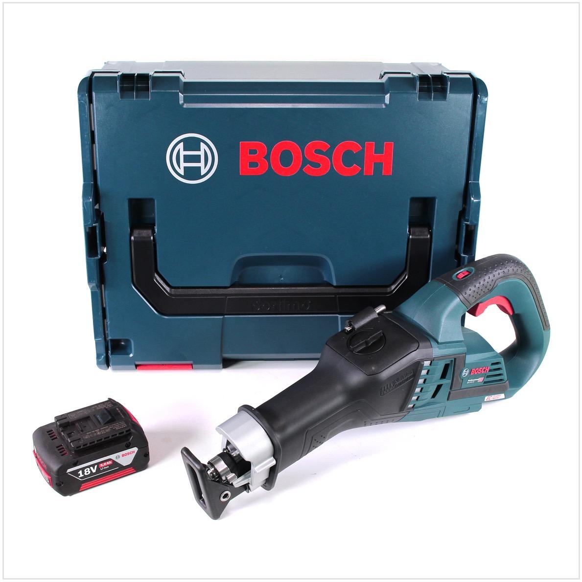 bosch gsa 18v-32 professional scie sabre sans fil brushless avec