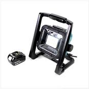 Makita DEADML / DML 805 LED Baustrahler 14,4 - 18 Volt / 230 Volt + 1x BL 1830 18V - 3Ah Li-Ion Akku