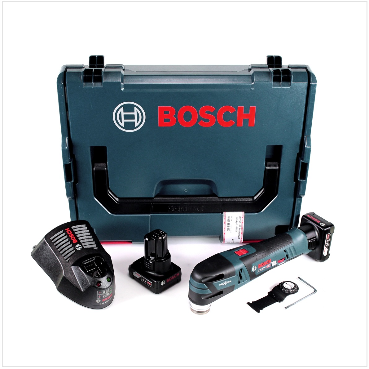 Bosch gop 12v 28 akku multi cutter brushless starlock 2x for Bosch electric motors 12v
