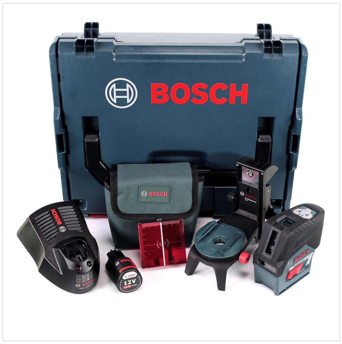 bosch professional gcl2 50c 12v kombi punkt kreuzlinien laser akku 0601066g03 ebay. Black Bedroom Furniture Sets. Home Design Ideas