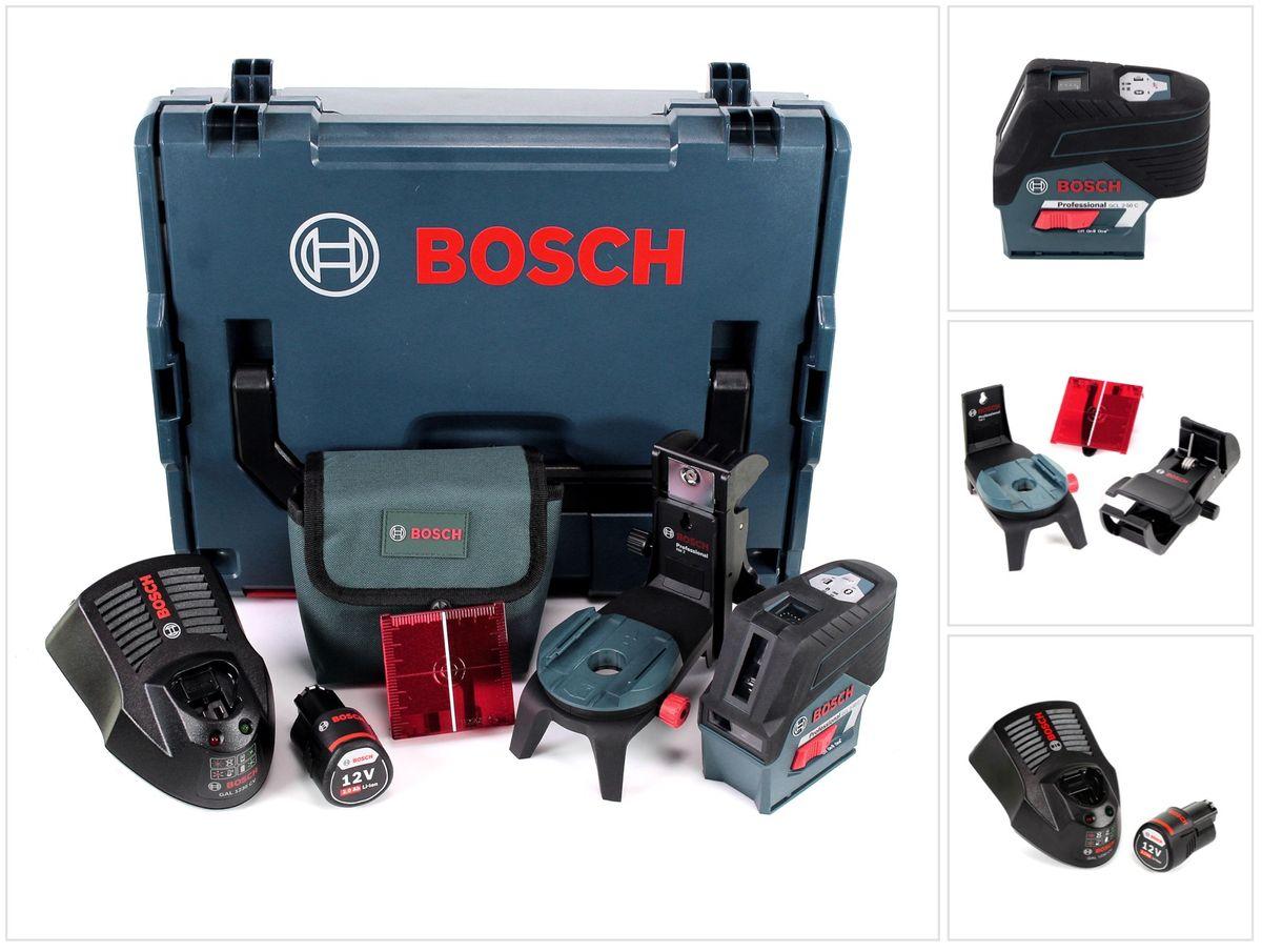 Bosch professional gcl c g v akku kombi punkt und
