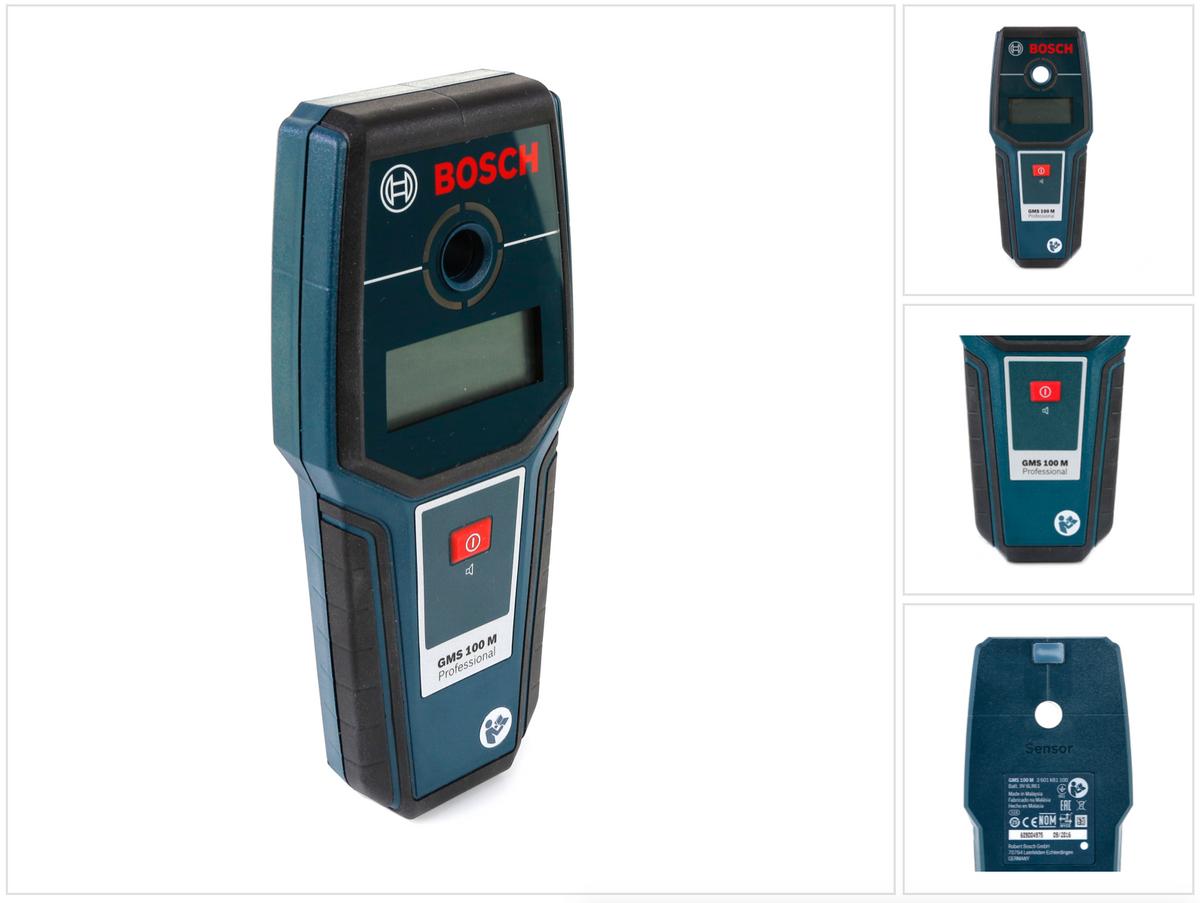 Bosch gms m multidetektor metalldetektor ortungsgerät