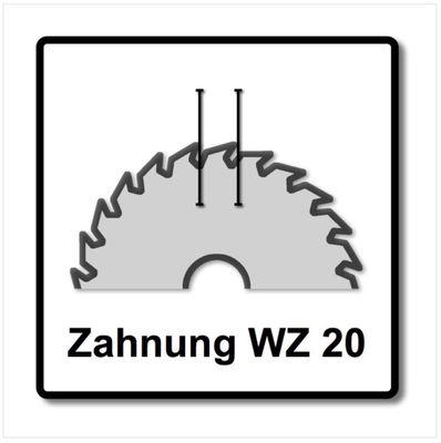 Bosch 3x Kreissägeblatt Optiline Wood ST WO H 85x15-20 85 mm 20 Zähne ( 3x 2608643071 ) – Bild 4