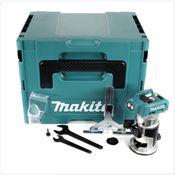 Makita DRT 50 ZJ 18 V Li-Ion Akku Brushless Multifunktionsfräse Solo im Makpac - ohne Zubehör, ohne Akku, ohne Ladegerät