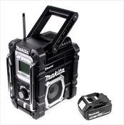 Makita DMR106B 7,2 - 18 V Akku Baustellen Radio mit 1x BL1850 5,0 Ah Akku