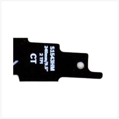 """Bosch 5x Lames de scie sabre S 1543 HM 240mm / 9"""" pour scier dans la brique, béton cellulaire et matériaux abrasifs – Bild 5"""