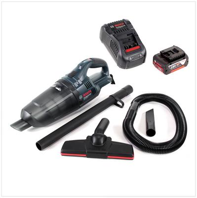Bosch GAS 18 V Li-Ion Aspirateur sans fil ( 06019C6100 ) + 1x Batterie GBA 18 V 5,0 Ah + 1x Chargeur rapide GAL 1880 CV – Bild 2