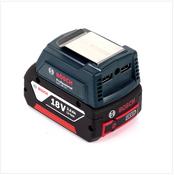 Bosch USB Power Set 18 V mit GAA Professional USB Adapter für 14,4 V / 18 V Akkus + 1x GBA 18V 3,0 Ah Li-Ion Einschub Akku