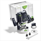 Festool OF 2200 EB-Plus Oberfräse 2200W 80mm Hub ( 574349 ) + Zubehör + Systainer