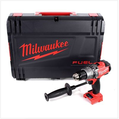 Milwaukee M18 ONEPD 18 V Li-Ion Brushless Akku Schlag Bohr Schrauber Solo im Koffer mit ONE-KEY Technologie - ohne Zubehör – Bild 2