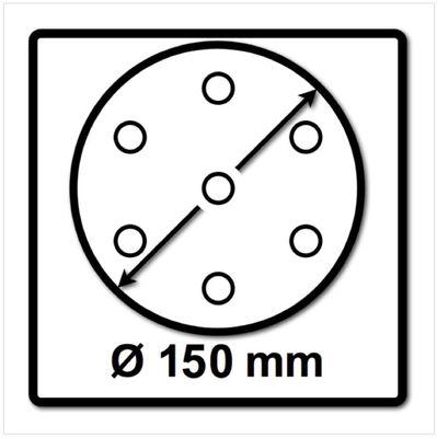 Festool STF D150/16 Rubin2 Schleifscheiben P120 RU2/50 150 mm / 50 Stück ( 499121 ) – Bild 3