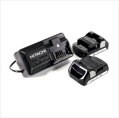 Hitachi DS 18 DJL 18 V Perceuse - visseuse sans fil avec Boîtier de transport + 2x Batteries BSL 1815 1,5 Ah + Chargeur UC 18 YKSL – Bild 5