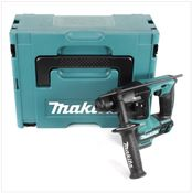 Makita HR 166 DZJ 10,8 V Li-Ion SDS-Plus Brushless Akku Bohrhammer Solo im Makpac