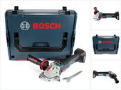 Bosch GWS 18 V 115 SC Akku Winkelschleifer Solo in L-Boxx + GCY 30-4 Connectivity Modul - ohne Akku, ohne Ladegerät