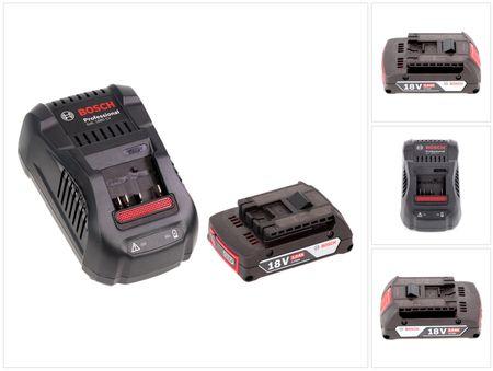 Bosch Akku Set mit 1 x GBA 2 Ah Akku und Ladegerät GAL 1880 CV für 14,4 V - 18 V Li-Ion  – Bild 3