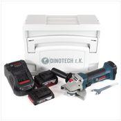 Bosch GWS 18-125 V-Li Akku Winkelschleifer 18V 125mm im Tanos Systainer + 1x 2,0Ah Akku + 1x 5,0Ah Akku + Ladegerät