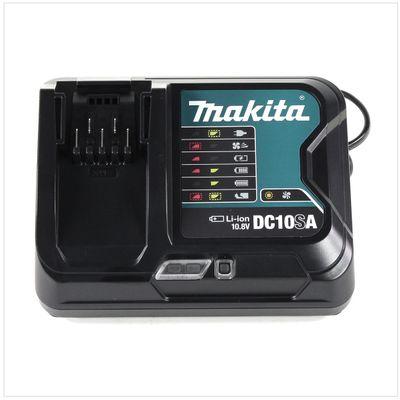 Makita Akku Power Set 10,8V mit 2x BL 1015 B 1,5 Ah Akku + DC 10 SA Ladegerät – Bild 4